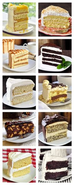 Who wants cake? Check out this drool-worthy collection of the Top Ten Dessert Cake Recipes from the dozens of cake recipes we have developed and posted over the last 5 1/2 years on Rock Recipes.