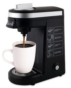Aicok Single Serve Coffee Maker, Coffee Machine for Most single cup pods including K-Cup pods, Quick Brew Technology Travel One Cup Coffee Brewer Best Drip Coffee Maker, K Cup Coffee Maker, Coffee Maker Reviews, Coffee K Cups, Coffee Brewer, Coffee Pods, Coffee Shop, Best Espresso, Espresso Coffee