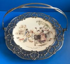 Antiques For Sale, Filigree, Silver Plate, Plates, Tableware, Ebay, Licence Plates, Dishes, Dinnerware