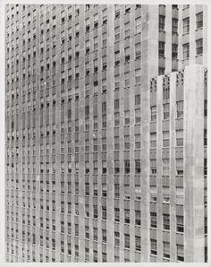 erwin blumenfeld:  rockefeller center c.1950