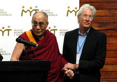 The Dalai Lama and Richard Gere