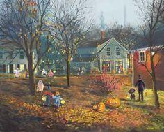 Halloween in the Village