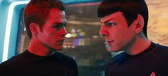 'Chris Pine' and 'Zachary Quinto' - 'Star Trek Beyond' (2016)