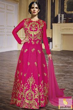 Go with the modern fashion with Bollywood inspired actress bruna abdullah pink color anarkali dress. Buy online latest wedding anarkali with most beautiful embroidery work. #bollywoodactressanarkalisuit #partywearanarkalisuit #weddinganarkalisuit #latestanarkalisuit More: http://www.pavitraa.in/catalogs/actress-bruna-abdullah-designer-anarkali-dresses/?utm_source=hp&utm_medium=pinterestpost&utm_campaign=15july