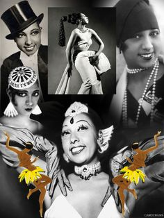 "Josephine Baker (June 3, 1906 – April 12, 1975) was an American-born French dancer, singer, & actress. Born Freda Josephine McDonald in St. Louis, she became a citizen of France in 1937. Fluent in both English & French, Baker became an international musical & political icon. She was given such nicknames as the ""Bronze Venus"" & the ""Black Pearl"". Baker was the first African American female to star in a major motion picture & the first to become a world-famous entertainer. She adopted 12…"