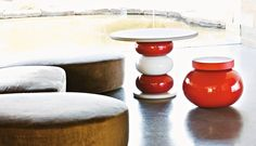 Design table and stool Faituttotu 1