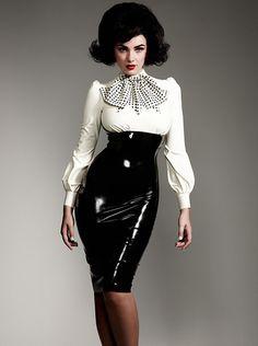 William Wilde - Madame Boucherie Latex Guinness Dress