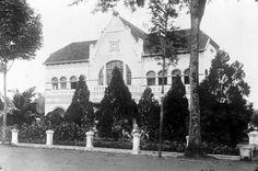 Telefoonkantoor in Bandoeng, 1938