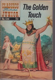 Classics Illustrated Junior 534 The Golden Touch