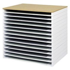 Giant Stack Trays - Giant Stack Trays are a great way to store your flat files in an economical fashion. At a fraction of the cost of a set of file cabinets, you can stac...