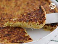 Tarte de alho poró / alho francês-porro, Foto 3