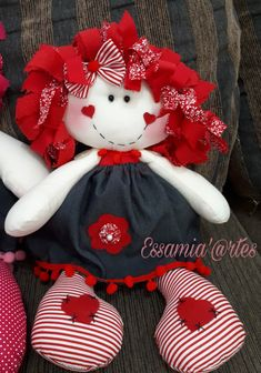 Sock Crafts, Sewing Crafts, Sewing Projects, Doll Clothes Patterns, Doll Patterns, Homemade Dolls, Fabric Toys, Sewing Dolls, Fun Crafts For Kids