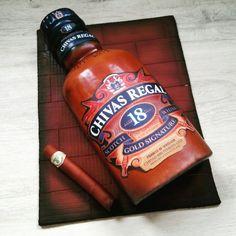 Chivas whisky cake