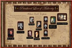 to request priesthood line of authority from church go to: http://tech.lds.org/wiki/Priesthood_Line_of_Authority