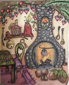 Granny's kitchen #carovnelahodnosti #klaramarkova #klaramarkovajewels #bayan_boyan #arte_e_colorir #adultcoloringbook #adultcolouring #robzlipner #polychromos #prismacolorpencils #coloringsecrets
