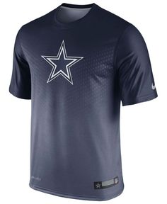 Nike Men's Dallas Cowboys Legend Sideline Dri-fit T-Shirt