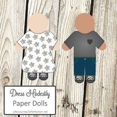 2016 LDS Sharing Time Ideas for August Week 2: Dressing modestly shows respect for Heavenly Father and myself.