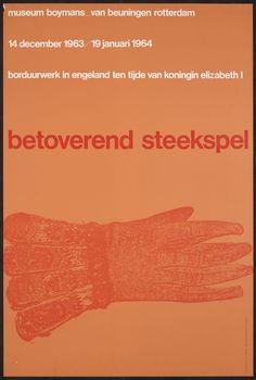 Benno Wissing – Betoverend steekspel, Museum Boymans Van Beuningen, 1963