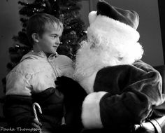 A special time with Signing Santa at the Marion Downs Hearing Center's 2013 Holiday Party #CUHSLibrary