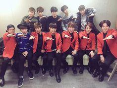Shinhwa & BTOB (Shinhwa minus Hyesung) cr: cubeunited