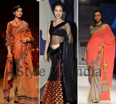 Saree Smart: Wills Lifestyle India Fashion Week Autumn Winter 2013 ...