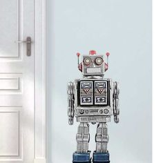 VAN IKKE Robot Muursticker kopen? Bestel bij fonQ.nl