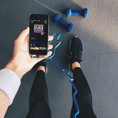 #3StripeStyle training kit ✔️ Challenging workout plan ✔️ Kick-ass playlist ✔️ @aniab has her gym session covered! Share your training pics with us by tagging @adidaswomen to feature on our feed.