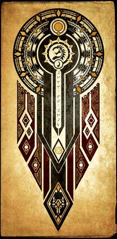 Elder Scrolls: Seal of BriiSeBrom by DovahFahliil.deviantart.com on @DeviantArt