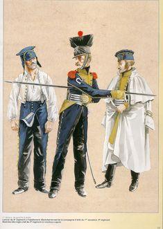 MINIATURAS MILITARES POR ALFONS CÀNOVAS: LES CHEAU-LÉGER POLONAIS DE 1812, por MICHEL PETARD.