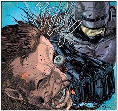 """""""Robocop: Dead or Alive"""" (2014) Art By Carlos Magno #Robocop"""