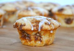 Coffee Cake Cupcakes - Adapt with more whole foods, less sugar, oil...