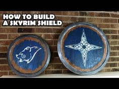 Build a Replica Skyrim Shield