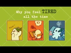 Why You Feel Tired All The Time - YouTube Emotionally Exhausted, Mental Issues, Feel Tired, Psychology, How Are You Feeling, Feelings, Videos, Youtube, Psicologia