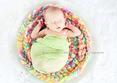 Amazing Photography Prop Plush Pretzel Twist  Braid Mini  Merino Crochet