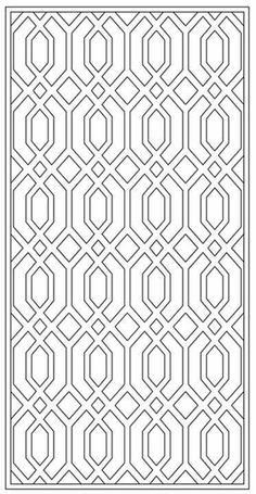Design Library | Tableaux® Decorative Grilles for Residential Design Islamic Art Pattern, Pattern Art, Pattern Design, Adult Coloring Book Pages, Colouring Pages, Geometric Designs, Geometric Art, Stained Glass Patterns Free, Stencil Templates