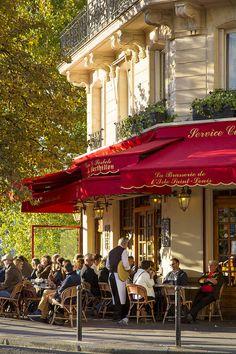 Evening Cafe - Paris Photograph