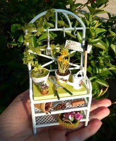 Mini Escenas, Miniaturas by Eva Perendreu. I want this for the outside