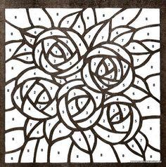 Click para cerrar, click y arrastrar para mover. Use las flechas del teclado para anterior y siguiente. Stained Glass Quilt, Faux Stained Glass, Stained Glass Designs, Stained Glass Panels, Stained Glass Patterns, Mosaic Patterns, Mosaic Crafts, Mosaic Projects, Mosaic Art