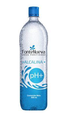 24 Botellas de Agua Alcalina Embotellada - Fontenueva pH+