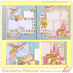 Enchanted Princess Two Page Layout