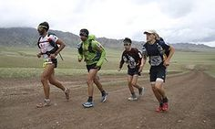 Preparing for a stage race (Gobi March)