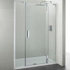 Ideal Standard Tonic Upstand Pivot Alcove Shower Door 1200mm