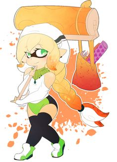 My Splatoon secret Santa image for Hazelmauz of their cute squid Lemon! I hope you like it ~ Secret Squid: Hazelmauz Stay Fresh, Secret Santa, Deviantart, Cute, Anime, Secret Pal, Kawaii, Cartoon Movies, Anime Music
