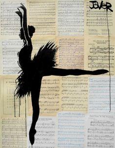 "Loui Jover; Ink 2013 Drawing ""prima"""