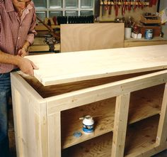 Comment fabriquer un meuble de rangement en bois? | BricoBistro