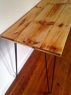 "Reclaimed Wood Desk - ""Passyunk Square"""