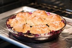I like me a fresh perfect Berry cobbler!! like American Test Kitchen's