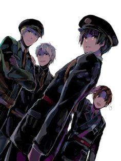 (WW2) Germany, Prussia, Italy, Japan; I like this one of them... especially Kiku