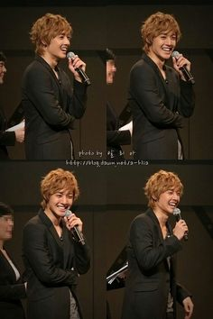 Kim Hyun Joong 김현중 ♡ so handsome when he laughs ♡ Kdrama ♡ Kpop ❤ ٩(๑´3`๑)۶