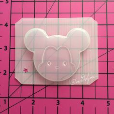 Mickey tsum tdum mold